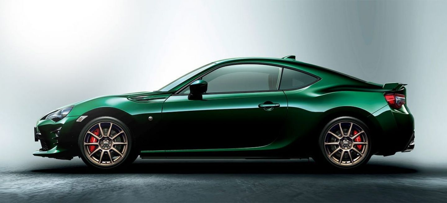 Toyota Gt86 British Green 1