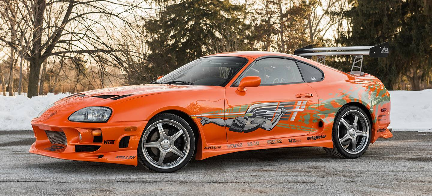 Orange Car In Fast And Furious