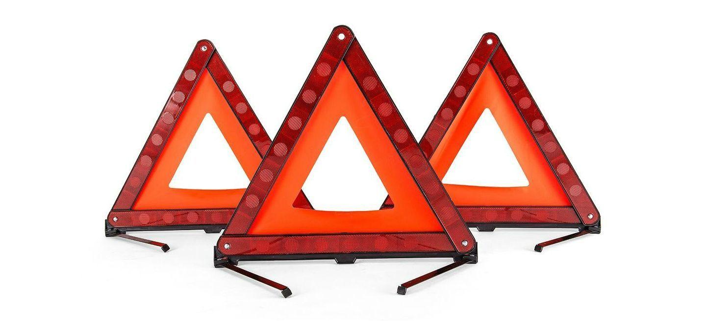 Triangulos Coche Emergencia