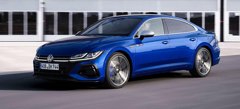 Volkswagen Arteon R 2020 Azul 03