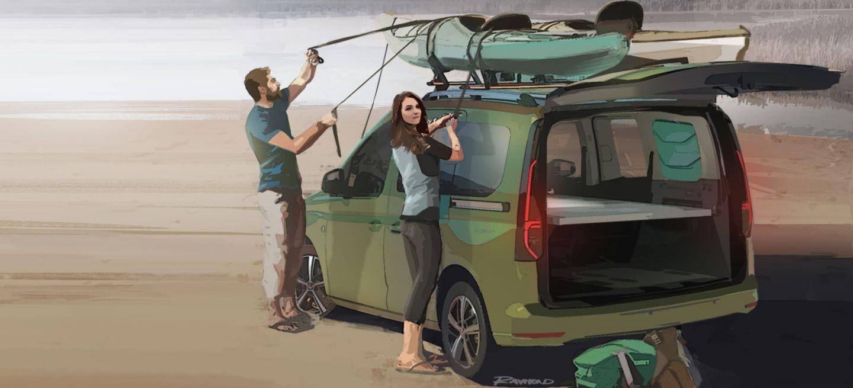 Volkswagen Caddy Beach 01