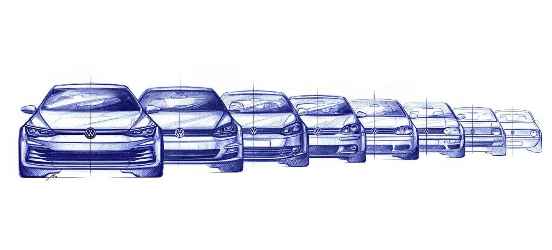 Volkswagen Golf 2020 Imagenes 01 Evolucion