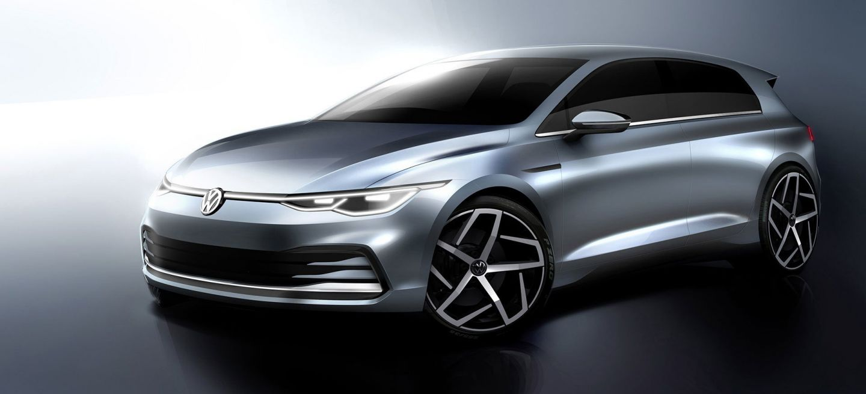 Volkswagen Golf 2020 Imagenes 031 Frontal