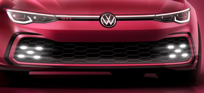 Volkswagen Golf Gti 2020 Rojo Imagen Adelanto