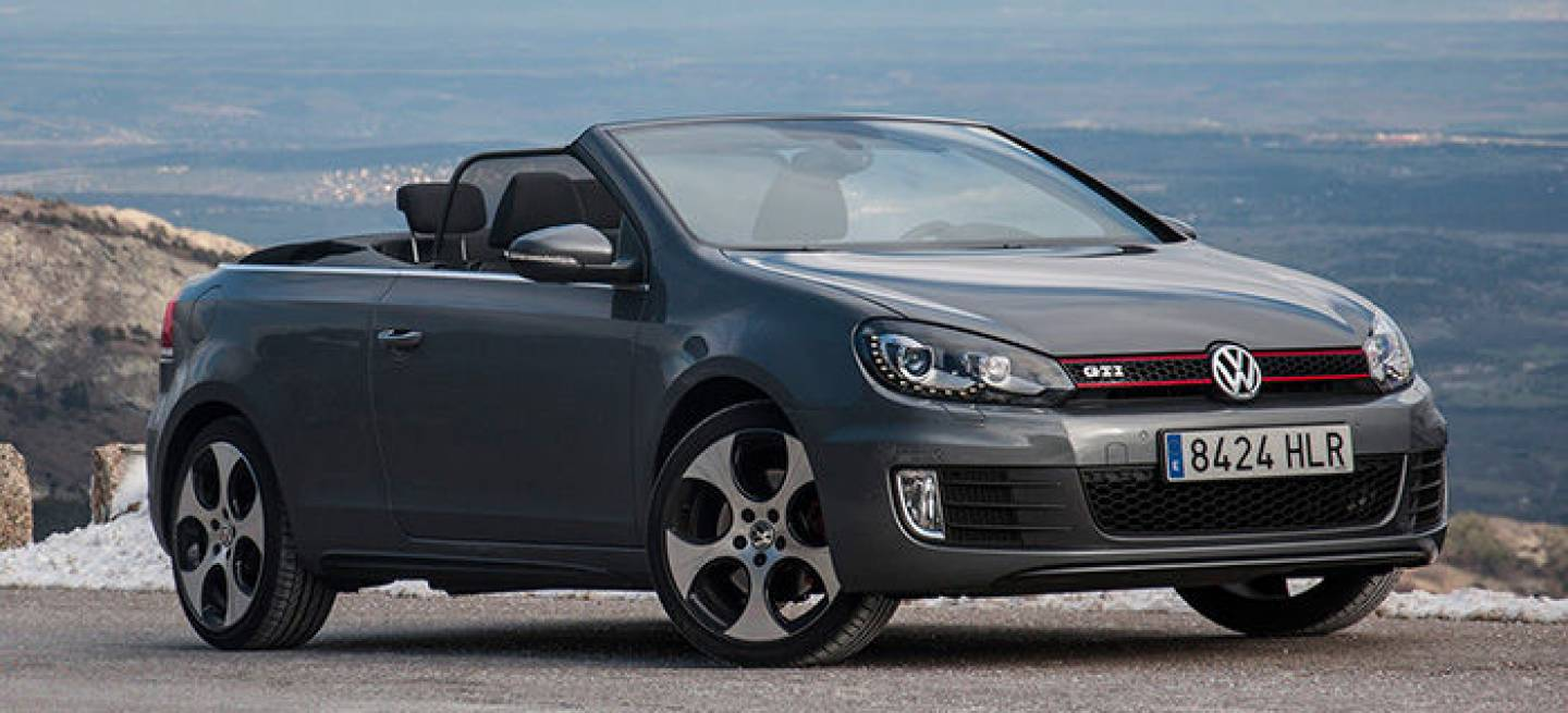 volkswagen golf gti cabrio a prueba reinventando el icono. Black Bedroom Furniture Sets. Home Design Ideas