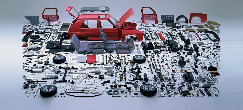 Volkswagen Golf Mk2 Despiece