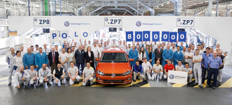 Volkswagen Navarra Fabrica Su Polo 8 Millones