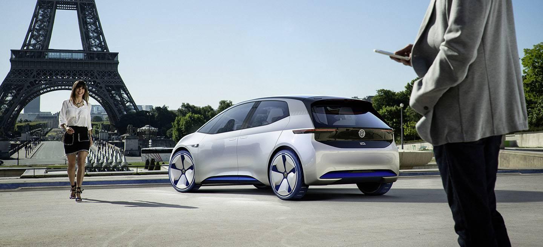 Volkswagen Showcar I.d. I.d. ? Die Revolution. Der Erste Volkswagen Auf Der Vˆllig Neuen Elektrofahrzeug Plattform. Der Erste Volkswagen, Der F¸r Das Automatisierte Fahren Vorbereitet Ist.
