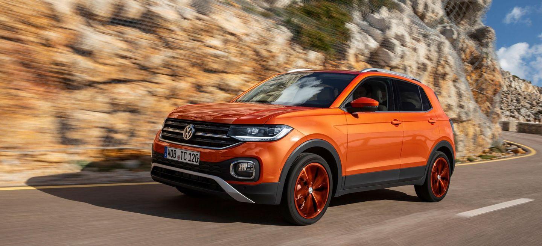 Volkswagen T Cross 2019 Naranja Prueba Exterior 04