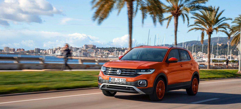 Volkswagen T Cross 2019 Naranja Prueba Exterior 06