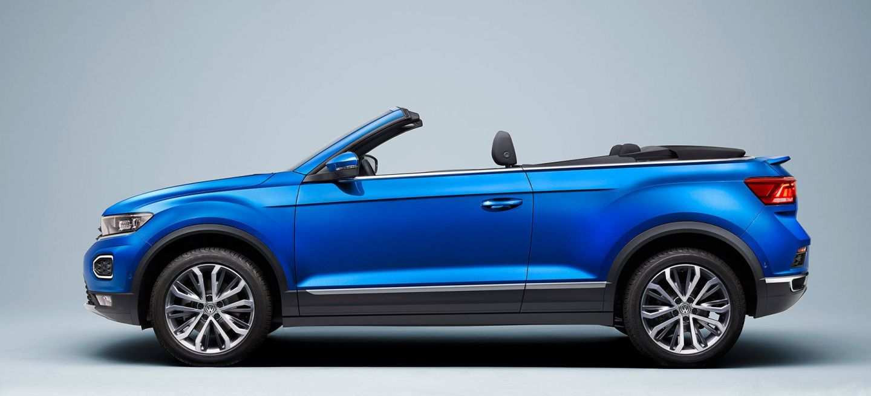 Volkswagen T Roc Cabrio 2020 Azul Capota 07