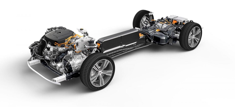 Volvo Chasis Hibrido S60 T8