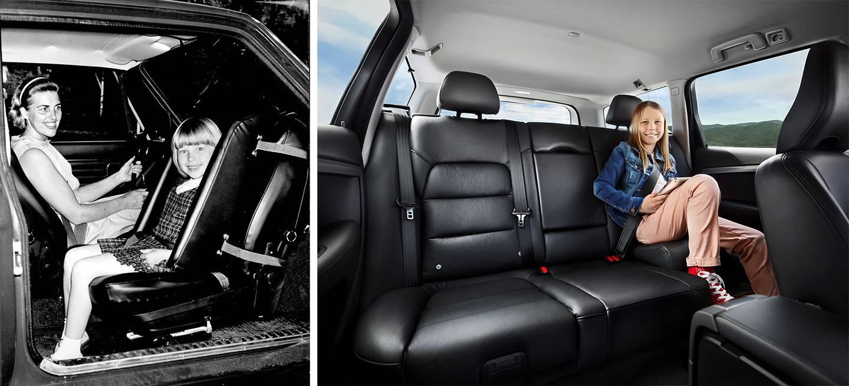 Un volvo xc90 con tres asientos es una gran idea tambi n for Asientos ninos coche