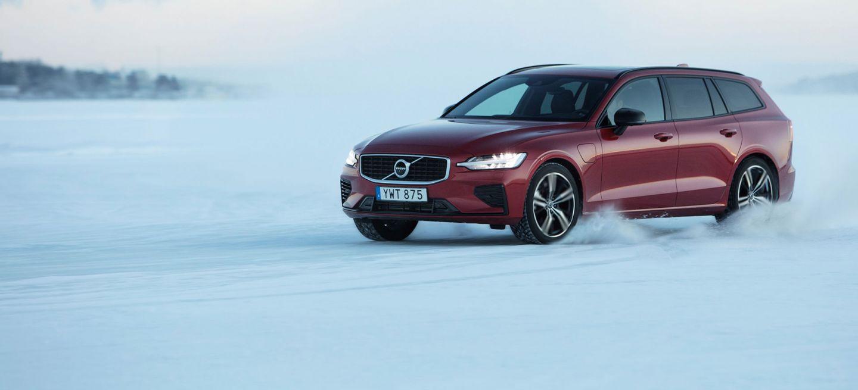 Volvo V60 2019 Rojo Nieve