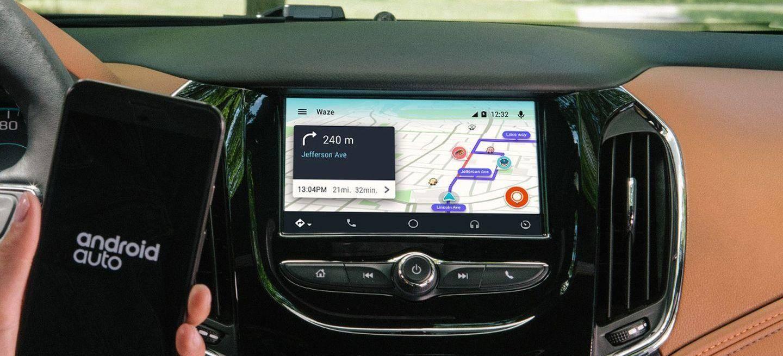 desde hoy mismo podr s usar waze en tu coche compatible con android auto diariomotor. Black Bedroom Furniture Sets. Home Design Ideas