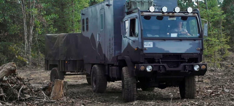 Wazimu Camion Militar Camper 1019 01