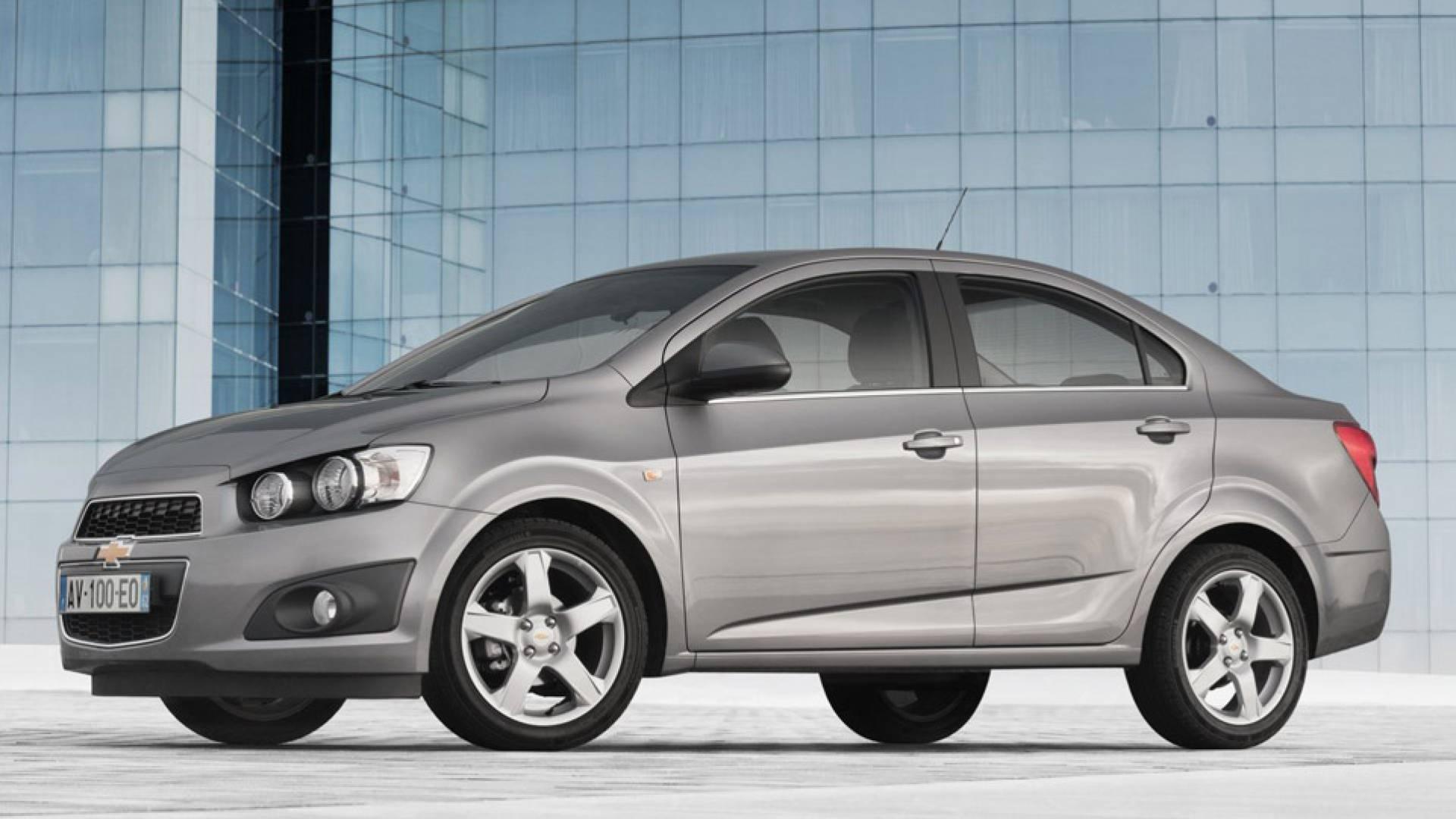 Chevrolet Aveo Sedán