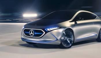 Showcar Mercedes Benz Concept Eqa: Eq Konzept In Der Kompaktklasse thumbnail