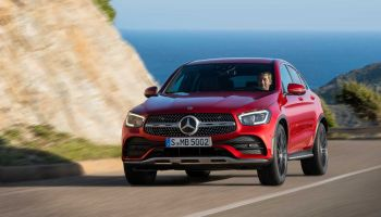 Mercedes Glc Coupe 2019 Rojo 02 thumbnail