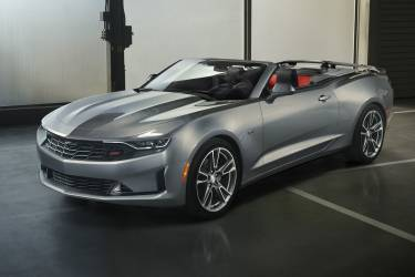 2019 Camaro Rs' New Front End Styling, Including The Fascia, G