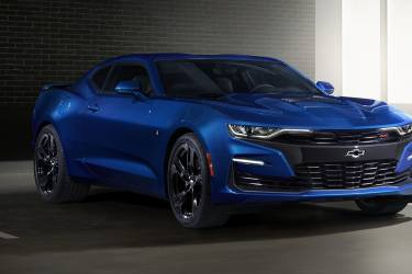 "2019 Camaro Ss Front Fascia Features A ""flowtie"" Open Bowti"