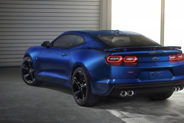 2019 Camaro's New Led Taillamps With A More Sculptured Evoluti