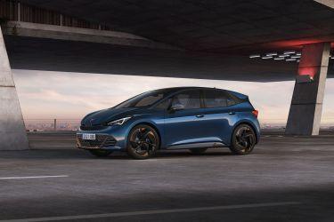 Cupra Born Electrico 2021 Aurora Blue 1