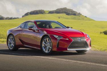 Lexus Lc 500h Rojo Frontal