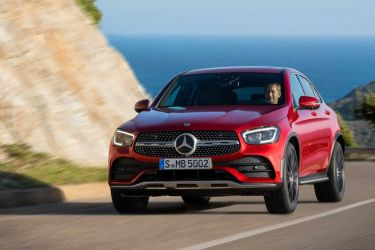 Mercedes Glc Coupe 2019 Rojo 02