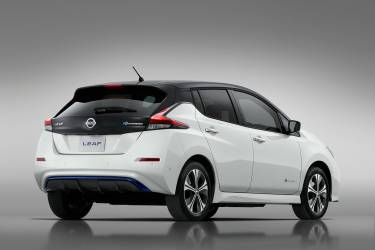 Nissan Leaf 3zero Blanco Trasera 03