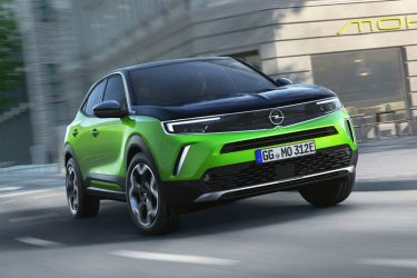 Opel Mokka E 2020 Verde 07