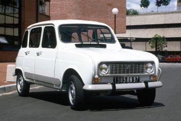 Renault 4 Blanco