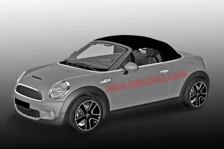 Mini Roadster y Mini Coupé, los bocetos filtrados de producción