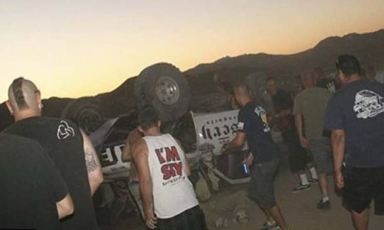Accidente California 200