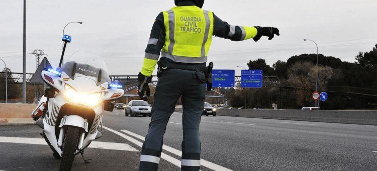 10 Infracciones Quitan Puntos Control Guardia Civil