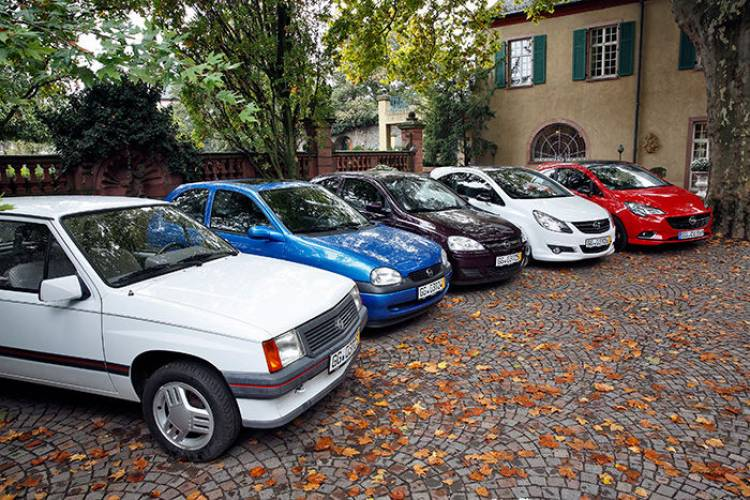 Opel Corsa Chasis