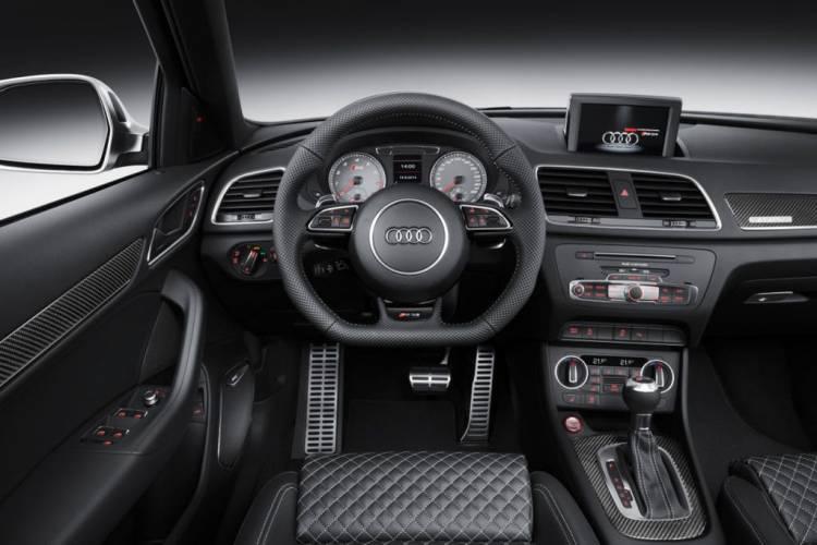Audi Q3 RS 2015: ahora con 340 caballos para el SUV compacto más salvaje