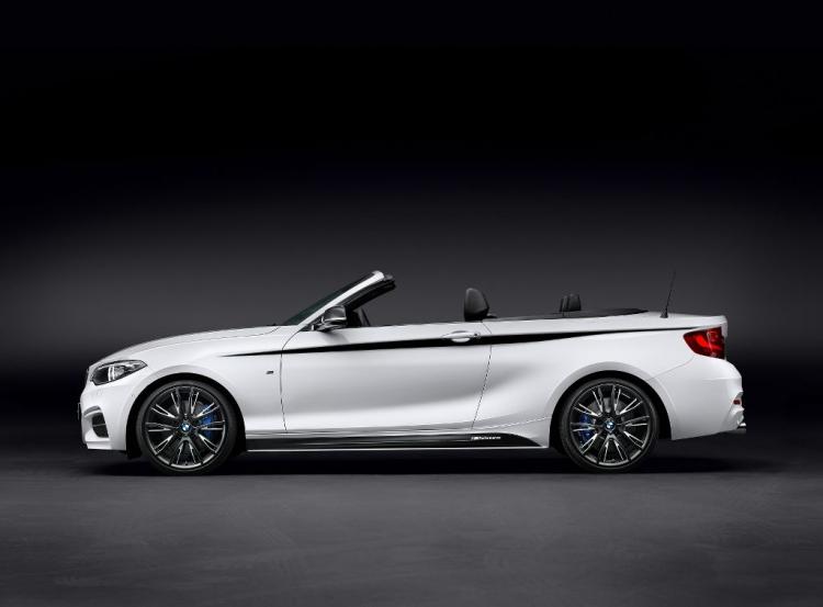BMW Serie 2 Cabrio, ahora con el toque de M Performance