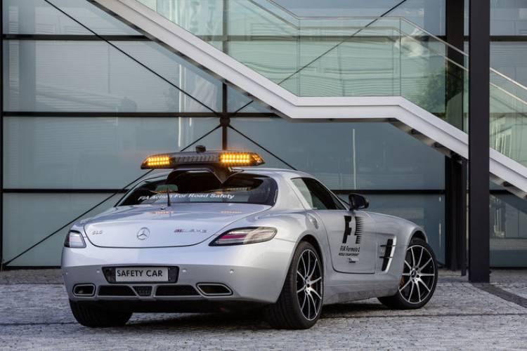 Mercedes-Benz SLS AMG GT Safety Car