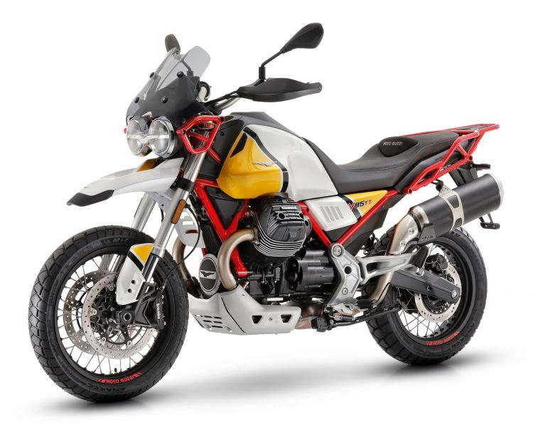 14 Moto Guzzi V85 Tt