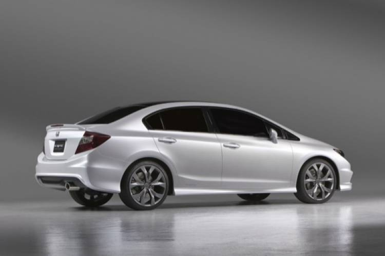 Honda Civic Si Coupé y Civic Sedán Concept