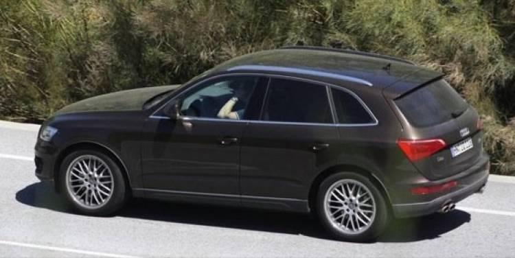 Audi Q5, fotografías espía