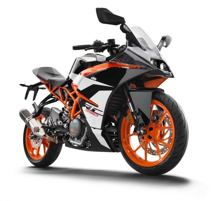170646 Ktm Rc 390 Front Right My 2017
