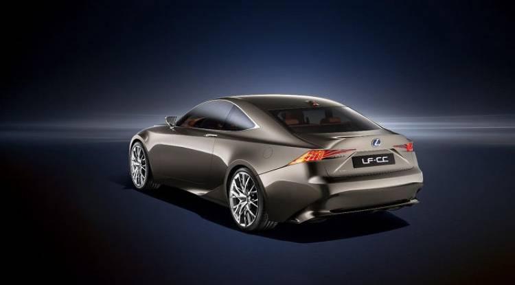 Luz verde para la producción del Lexus LF-CC