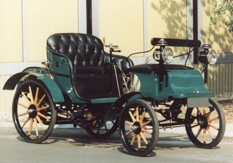 1899 Opel Patent Motor Wagen System Lutzmann