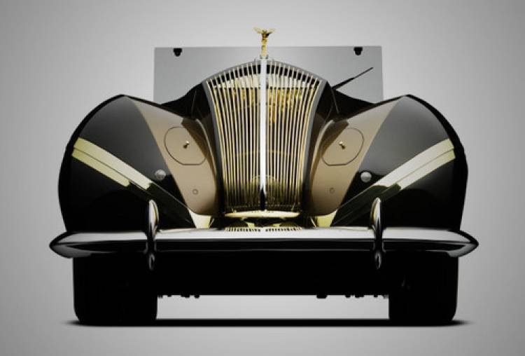 Rolls-Royce Phantom III de 1939 por Labourdette