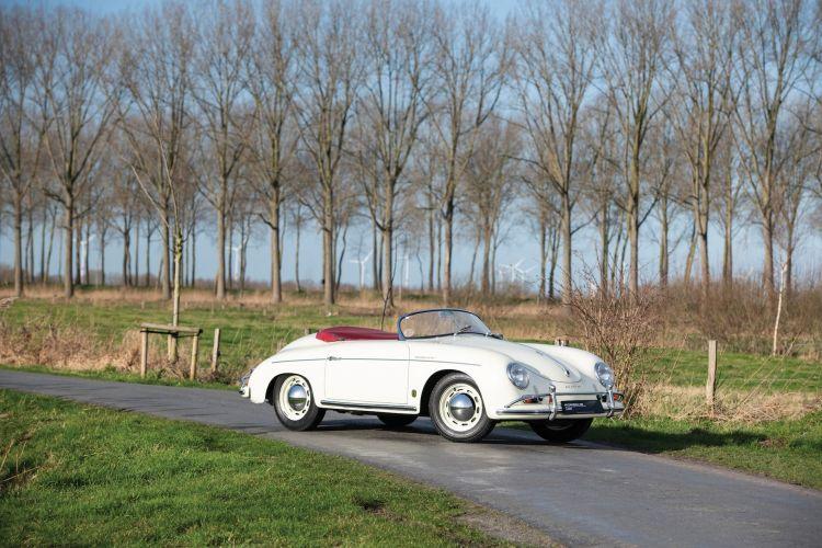1957 Porsche 356 A 1600 Speedster By Reutter 0