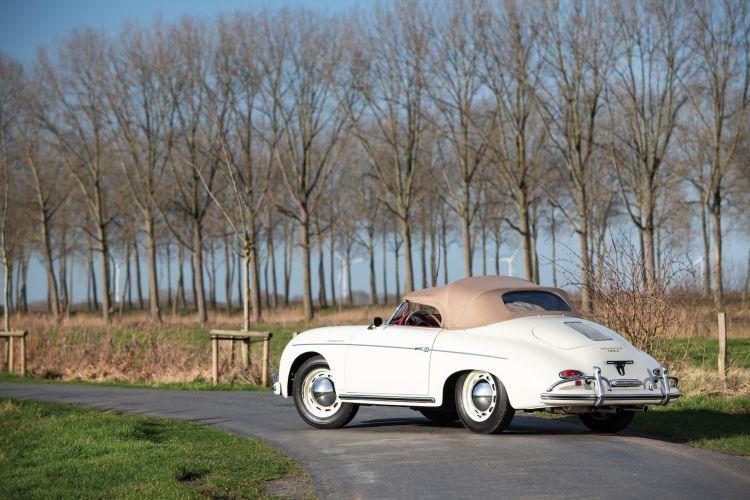 1957 Porsche 356 A 1600 Speedster By Reutter 1