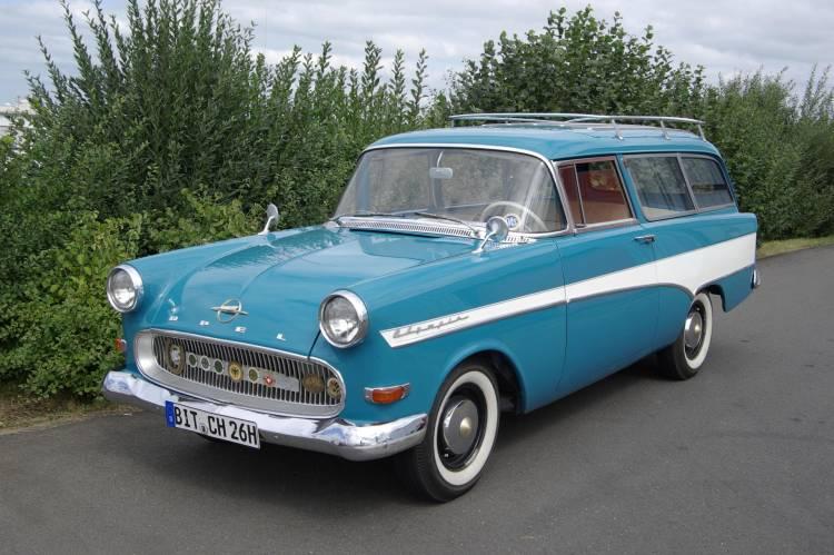1960 Opel Olympia Rekord P1 1500 Caravan