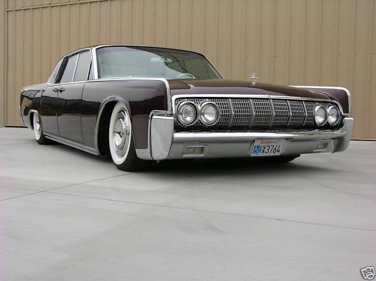 723-hp 1964 Lincoln Continental